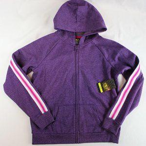 Athletic Works Plus Size Girls Zip Up Sweatshirt